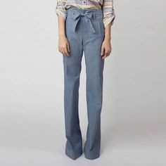 Vanessa Pant Blue, $115, now featured on Fab.
