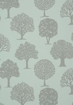 RUSSELL SQUARE, Linen on Aqua,( T35108, Collection Graphic Resource from Thibaut (possible wallpaper)