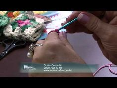 Mulher.com 15/12/2014 - Tapete de Croche por Vitoria Quintal - Parte 1 - YouTube