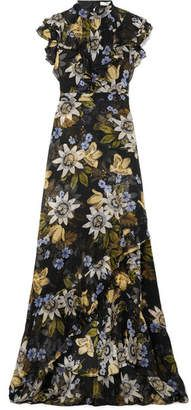 Shop on-sale Riva ruffle-trimmed floral-print silk-chiffon gown. Browse other discount designer Gowns & more luxury fashion pieces at THE OUTNET Chiffon Ruffle, Chiffon Gown, British Fashion Awards, Fashion And Beauty Tips, Erdem, Designer Gowns, Only Fashion, Fashion Outlet, All About Fashion