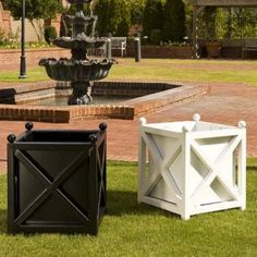 Square Paris Planter Item#: HN-NH051