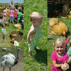 Vandaag een dagje naar de boerderij geweest met alle kinderen van de camping. Het was super!