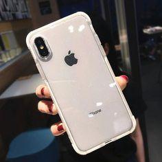 Glitter Anti-Knock Transparent iPhone Case - Red / iPhone 11 Pro