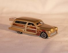 4GB USB 1950's Woodie Custom Die Cast by DHHdesign on Etsy, $20.00