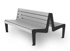 ławki dwustronne stylowe i nowoczesne