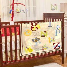 Baby's First by Nemcor Alphabet Baby Crib Collection - BedBathandBeyond.com