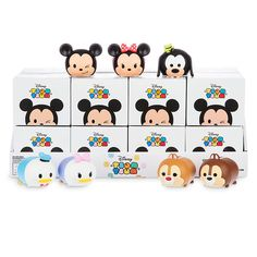 Mickey and Friends Tsum Tsum Vinyl Figures