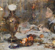 Nicolai Fechin (Russian/American, 1881-1955) Impressionism