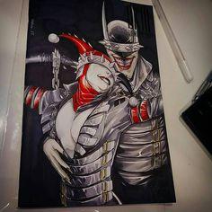 by Antonio Brice Batman Universe, Dc Universe, Comic Book Characters, Comic Books, Dark Knights Metal, Batman Metal, Batman Family, Dc Comics Art, Joker And Harley Quinn