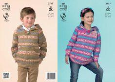 3717 | Knitting Patterns | Hoodies