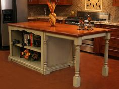 Butcher Block Island And Table Old World Kitchen Design   Interior Design  Ideas, Style, Homes, Rooms, Furniture U0026 Architecture | For The Kitchen |  Pinterest ...