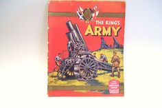 1937 Boys Coronation Library The Kings Army  Presented with Adventure 1937 Rare