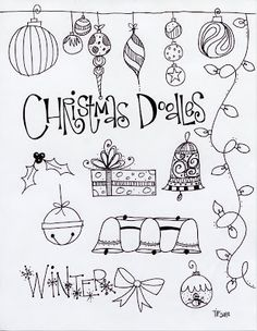 T. Matthews Fine Art: First Friday Art Class, December 2013 - Christmas Angels and Doodles