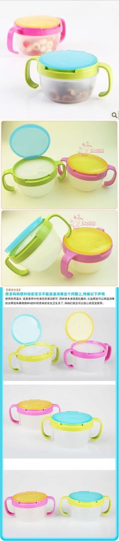 2015New Hot Infants Kid 360 Rotate Spill Proof Bowl Dishes Tableware Baby  Snack Bowl Food