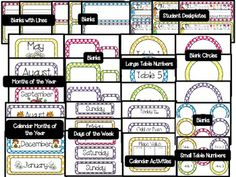 Everything Polka Dots Classroom$ Posters & Signs Pack