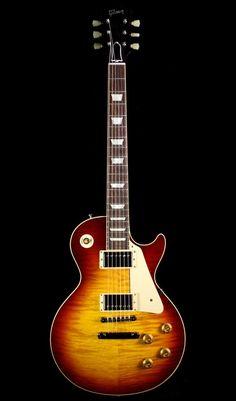 Gibson Custom Shop Historic 1959 Les Paul Standard Reissue in Bourbon Burst Gibson Epiphone, Epiphone Les Paul, Gibson Guitars, Fender Guitars, Acoustic Guitars, Guitar Pics, Cool Guitar, Gibson Les Paul, Taylor Guitars