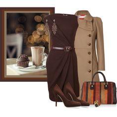 """10th challenge - Vivienne Westwood camel coat"" by madamedeveria on Polyvore"