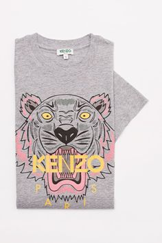Kenzo Tiger head T-shirt - Kenzo Icons Women - Kenzo E-shop