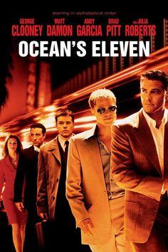 Ocean's Eleven (2001) - George Clooney, Brad Pitt, Matt Damon, Casey Affleck, Julia Roberts, Andy Garcia