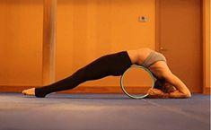 Zuwit Yoga-Übung-Rad, 45,42 Euro, für die Verbesserung der Wirbelsäule Flexibilität & Freigabe Spannung & Muskeldehnung und Öffnung der Brust, Schultern, Rücken, Hüften und Psoas. Fordern Sie in Hunderten von Yoga-Posen!