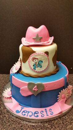 Sheriff Cali cake