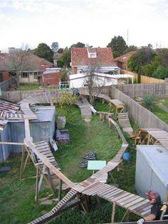 Backyard NorthShore Aussie style - All For Garden Dirt Bike Track, Bmx Dirt, Rc Track, Jump Park, Skate Park, Mtb Trails, Mountain Bike Trails, Circuit Velo, Vintage Bmx Bikes