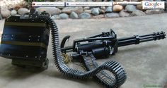 """Dillon Aero Gatling gun - Also known as a minigun it has a rate of fire of rounds per minute. x 51 mm.""""problem 'Islamic State' could you exit from Iraq then please"""". Sci Fi Weapons, Weapons Guns, Airsoft Guns, Guns And Ammo, Light Machine Gun, War Machine, Dillon Aero, Revolver Pistol, Military Helicopter"""