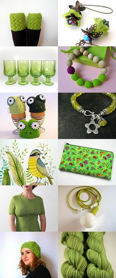 all that green by alessandra zoppelli on Etsy--Pinned with TreasuryPin.com