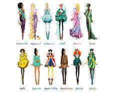 Disney princesses get a high fashion makeover :: Cosmopolitan UK