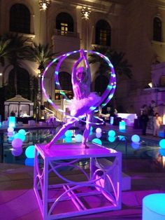 Event Entertainment And Production Company - Novelty Las Vegas Event Planning Glowing beauty.
