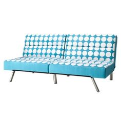 Union Teal  Dot Futon. This is so you.