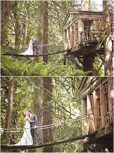 Treehouse Point Wedding Venue | Amanda Lloyd Photography