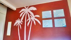 project of Pintura Highway Skyline, Projects, How To Make, Home Decor, Pintura, Log Projects, Blue Prints, Decoration Home, Room Decor