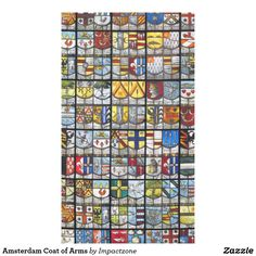 Amsterdam Coat of Arms Tablecloth