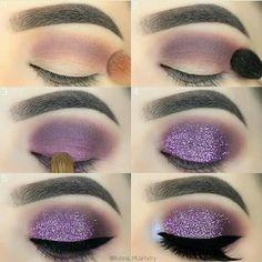 Pinterest @IIIannaIII #GlitterEyeshadow