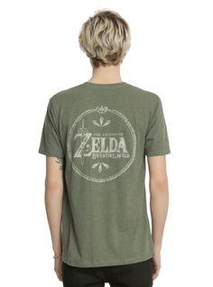 The Legend Of Zelda: Breath Of The Wild Logo T-Shirt,