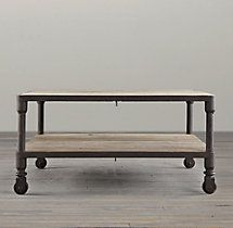 Dutch Industrial 34 Square Coffee Table Comes in Copper finish or dark grey
