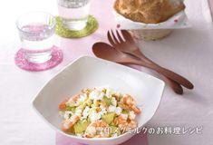 カッテージチーズとアボカドのサラダ|雪印メグミルクのお料理レシピ
