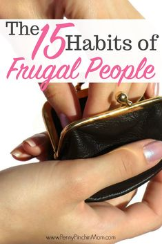 Frugal people seem to have an amazing knack when it comes to saving money. Learn Fifteen Habits of Frugal People! Save Money On Groceries, Ways To Save Money, Make More Money, Money Saving Tips, Money Tips, Groceries Budget, Money Hacks, Earn Money, Living On A Budget