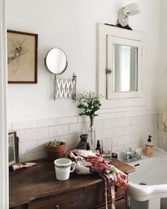 17 Gorgeous Farmhouse Bathroom Remodel Ideas and Design – Home Design Home Design, Home Interior, Interior Design, Interior Plants, Beautiful Bathrooms, My New Room, Cheap Home Decor, Scandinavian Style, Interior Inspiration