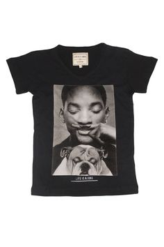 ELEVEN PARIS - little will - t-shirt will smith moustache