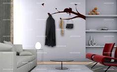 porte manteau on pinterest wall hooks coat racks and murals. Black Bedroom Furniture Sets. Home Design Ideas