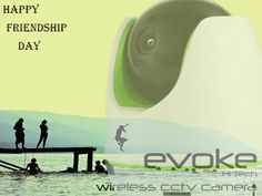 Evoke Smart Home Security camera protect you like your best Friend. Evoke Wishing you Happy Friendship Day. You can also view images from anywhere in the world. You can go on vacation, and check on your home while you are away. Wireless Cctv Camera, Wireless Security Cameras, Smart Home Security, Security Cameras For Home, Cctv Camera For Home, Happy Friendship Day, Home Automation, View Image, Like You