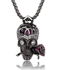 Men/'s Silver Punk Pendentif Croix biker clé Jean Wallet Chain Cool Fashion Jewelry
