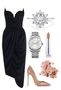 Untitled #70 by rodoulla97 on Polyvore featuring polyvore fashion style Zimmermann Christian Louboutin Calvin Klein Bobbi Brown Cosmetics clothing