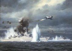 The darkest day of the british fleet