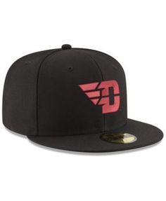fc3d03c7759 New Era Dayton Flyers Shadow 59FIFTY Fitted Cap - Black Red 7 3 8