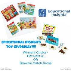Educational Insights Toys Giveaway – Winners Choice!! (ends 12/2) @edinsights