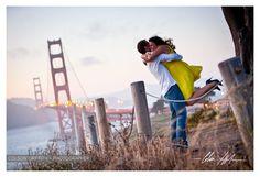 San Francisco Engagement Shoot Golden Gate Bridge