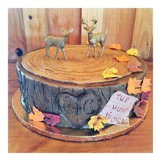 Hunting themed groom's cake / 2tarts Bakery / New Braunfels, TX / www.2tarts.com
